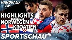 Highlights: Halbfinale Norwegen gegen Kroatien | Handball-EM | Sportschau