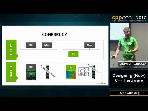 "CppCon 2017: Olivier Giroux ""Designing (New) C++ Hardware"""