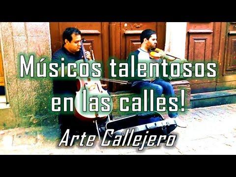 Talentosos músicos callejeros!