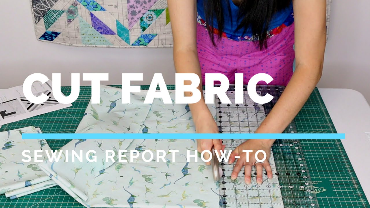 How To Cut Fabric for Sewing & Quilting | SEWING REPORT - YouTube : cutting fabric for quilting - Adamdwight.com