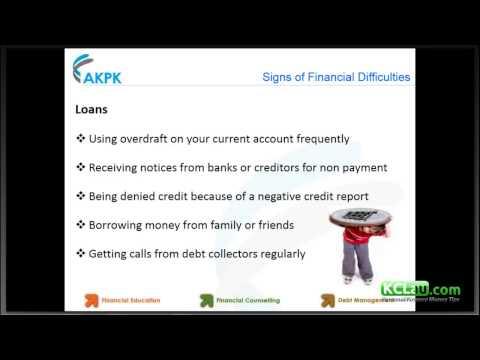 10 Waning Signs of Financial Distress