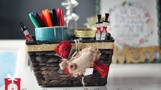 DIY Christmas Gifts: Cute & Creative Holiday Gift Baskets for Under $10