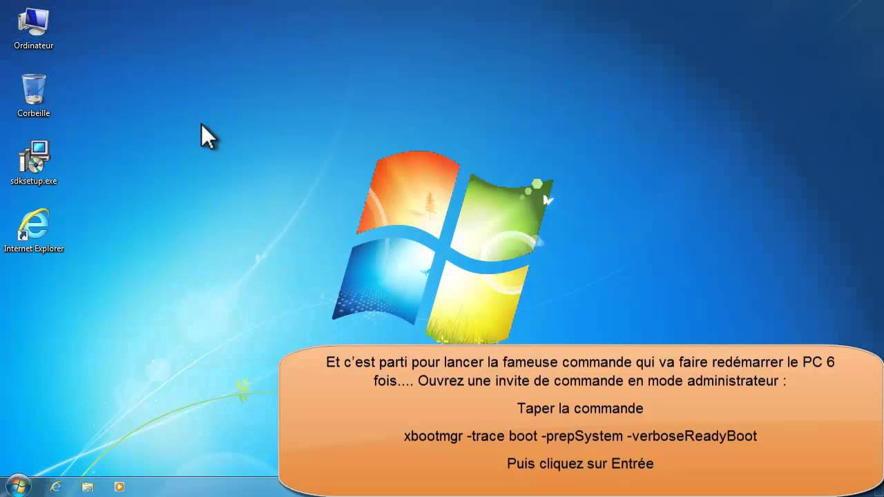 bootvis pour windows 7