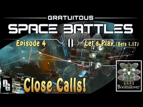 Gratuitous Space Battles II ► Episode 4 ► Beta 1.17 - Break their ranks with fire!