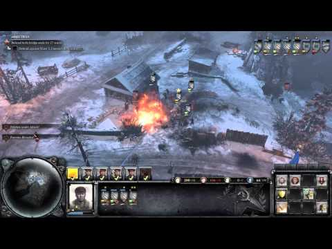 Company of Heroes 2 - Victory at Stalingrad DLC - Bridge Defense - General Difficulty