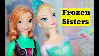 Frozen Disney Elsa EVIL TWIN Disney Princess Anna Parents Journal KidKraft Dollhouse Toys Twins