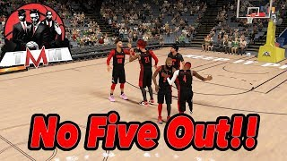 The Best Non 5 Out Team?! | NBA 2K18 Pro AM | What Do You Hate About 5 Out