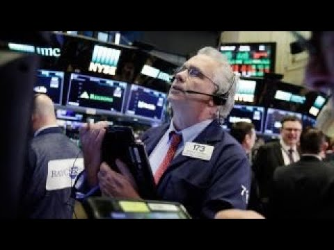Stocks drop as rates hit seven-year high