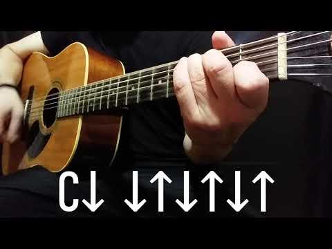 Когда твоя девушка больна.В.Цой. Как играть на гитаре.