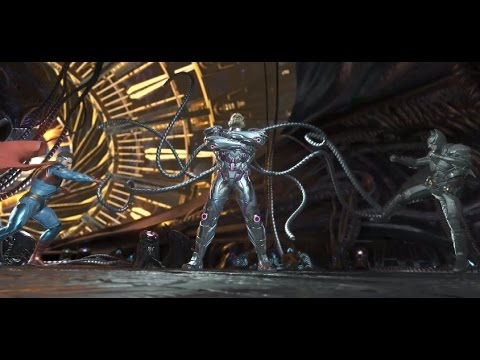 Injustice 2 Batman And Superman vs Brainiac