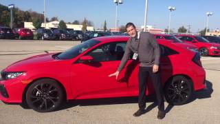 2017 Honda Civic Hatchback Sport presented by Jeremy Rees of Victory Honda in Muncie Indiana