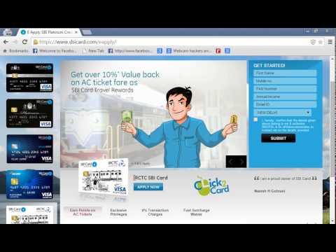 How To Apply Sbi Credit Card Online