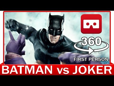 360° VR VIDEO - BATMAN vs JOKER - INTERROGATION SCENE - THE DARK KNIGHT - JUSTICE LEAGUE MOVIE