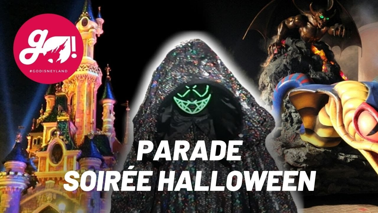 Disneyland Paris Halloween Party 2018.Parade De La Soiree Halloween 2018 Disneyland Paris