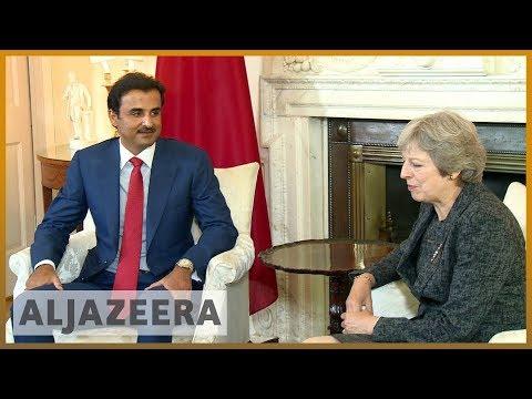 🇶🇦 🇬🇧 Qatar's emir in London for talks with British prime minister   Al Jazeera English