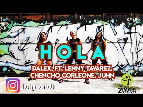 HOLA Remix – Dalex ft. Lenny Tavárez, Chencho Corleone, Juhn – Lucía Guerra / ZUMBA / Coreografía