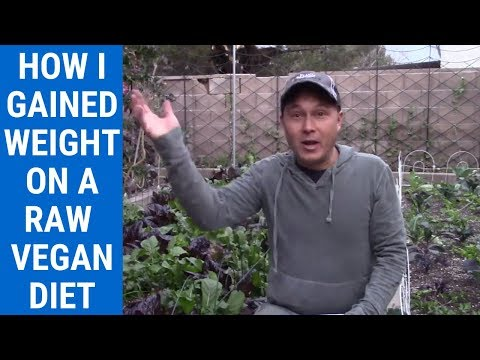 How I Gained Weight on the Raw Food Vegan Diet