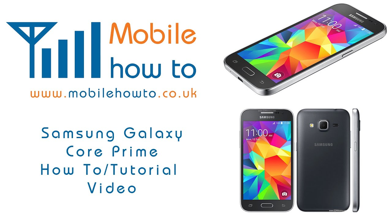 How To Change Wallpaper Background Samsung Galaxy Core Prime Youtube