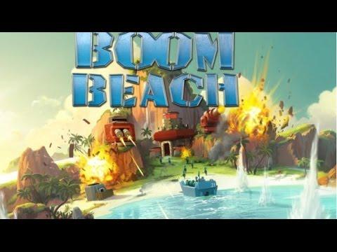 Прохождение игры boom beach на андроид. 1 часть!