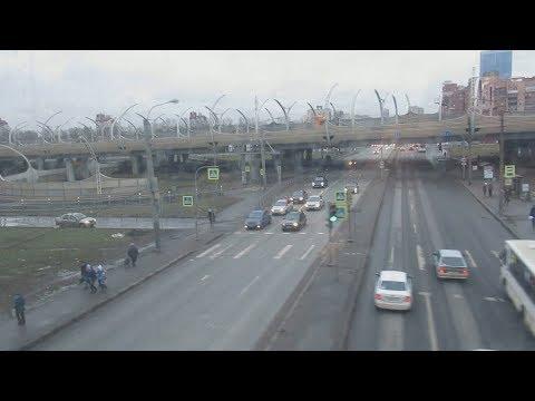 От Гатчины до Санкт-Петербурга на поезде Ласточка