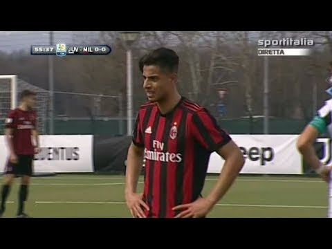Hachim Mastour vs Juventus (Return AC Milan) 31.03.2018