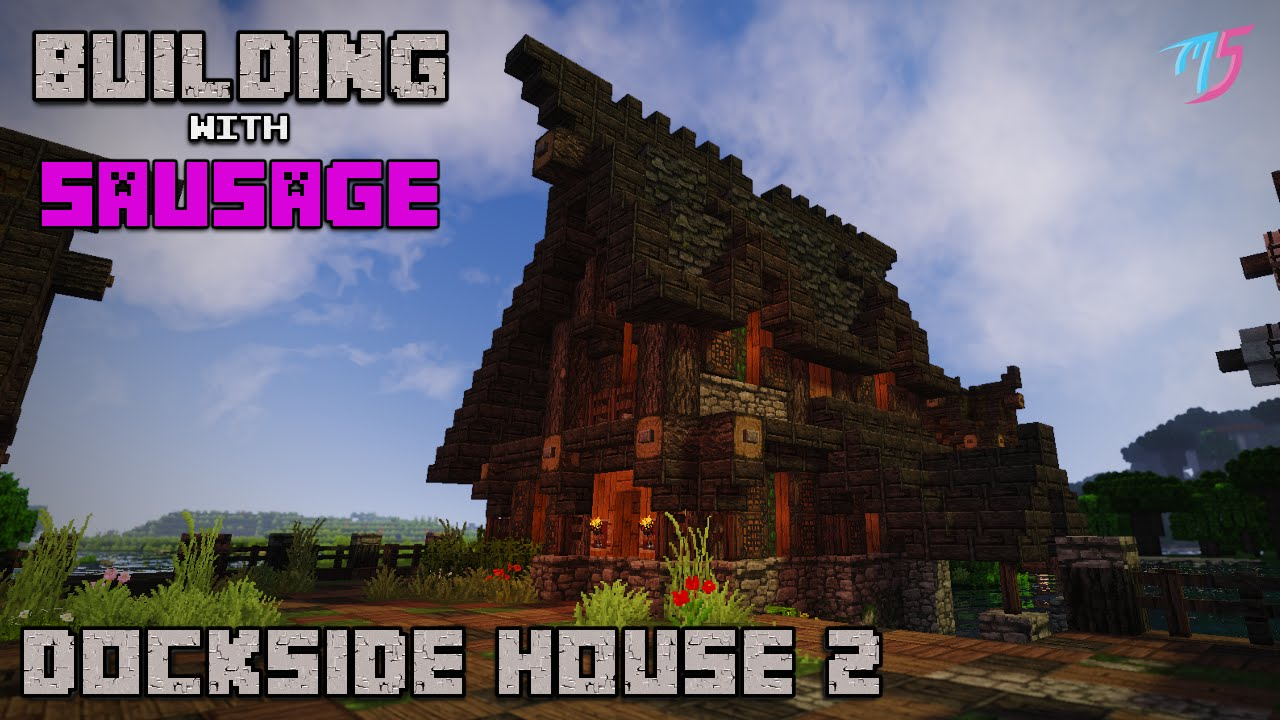 Minecraft Medieval Fishing House