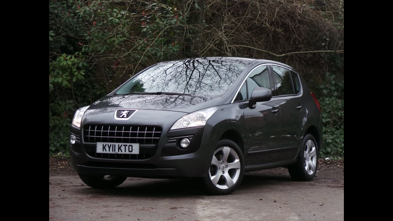 2011 11 peugeot 3008 1 6 hdi 112ps sport 5dr in shark grey youtube. Black Bedroom Furniture Sets. Home Design Ideas