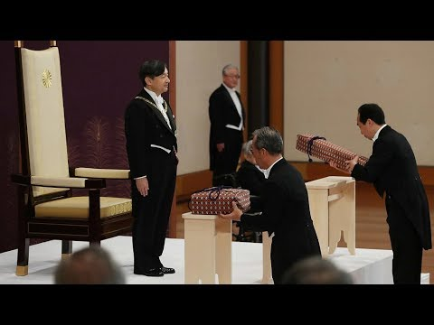 New Japanese Emperor Naruhito Delivers Public Remarks