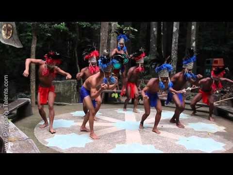 Aetas ethnic dances in Subic Bay