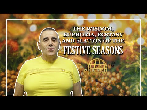 Vic's World - The wisdom, euphoria, ecstasy and elation of the festive seasons!