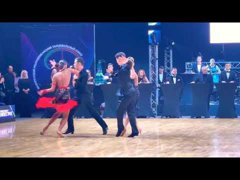Minsk Open 2021 IDSU Grand Prix Adult La Brovarskyi - Isaieva Samba