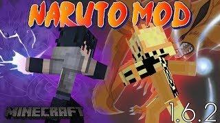 Naruto в minecraft - (naruto mod)