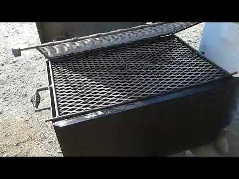 Custom Metal Projects Flip Grill