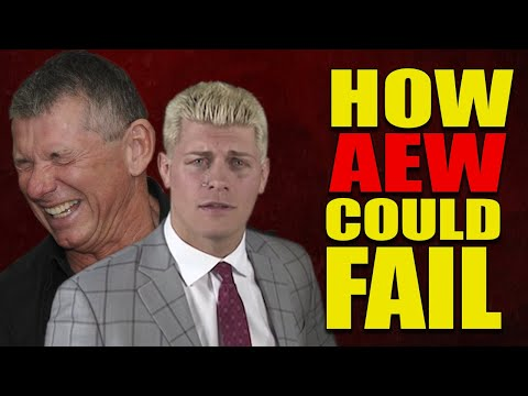 Reasons Why All Elite Wrestling (AEW) Could FAIL & LOSE To WWE (WWE vs AEW)