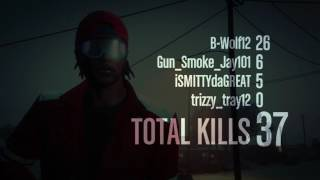 Grand Theft Auto V Game play(survival)