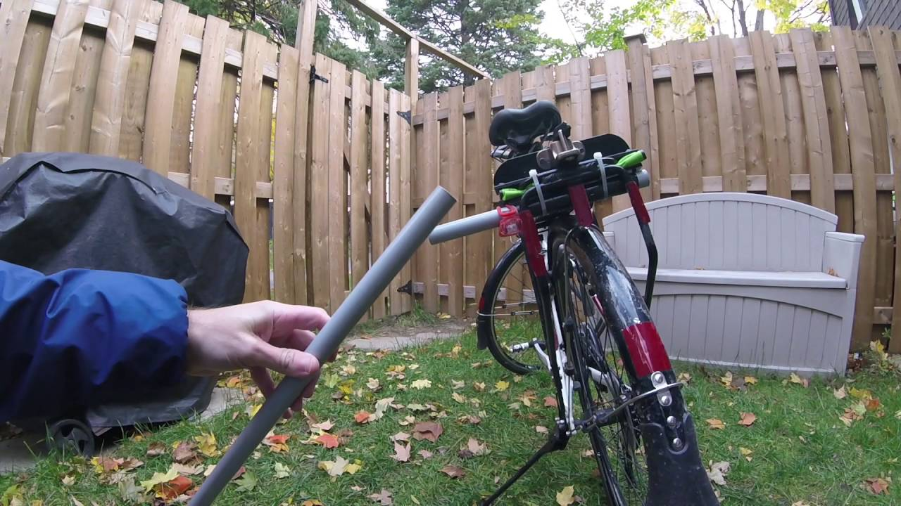 pool noodle on a bike to get more space youtube