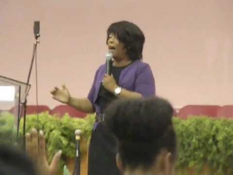 Maurette Brown-Clark sings Sovereign God @Madison Mission SDA
