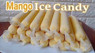 Mango Ice Candy Recipe I How to make Mango Ice Candy