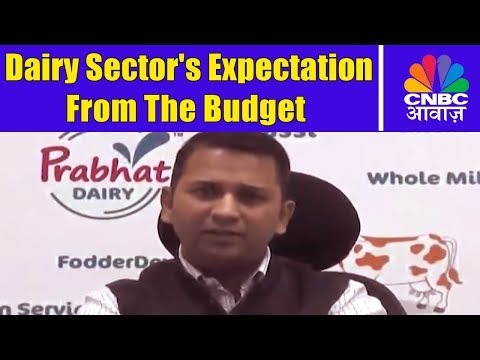 Dairy Sector's Expectation From The Budget | Budget Big Ideas | CNBC Awaaz