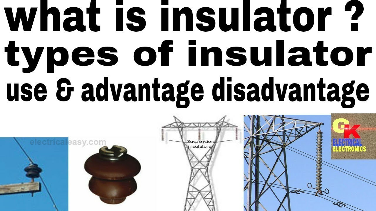 Learn about insulator, type of insulator and use transmission line ...