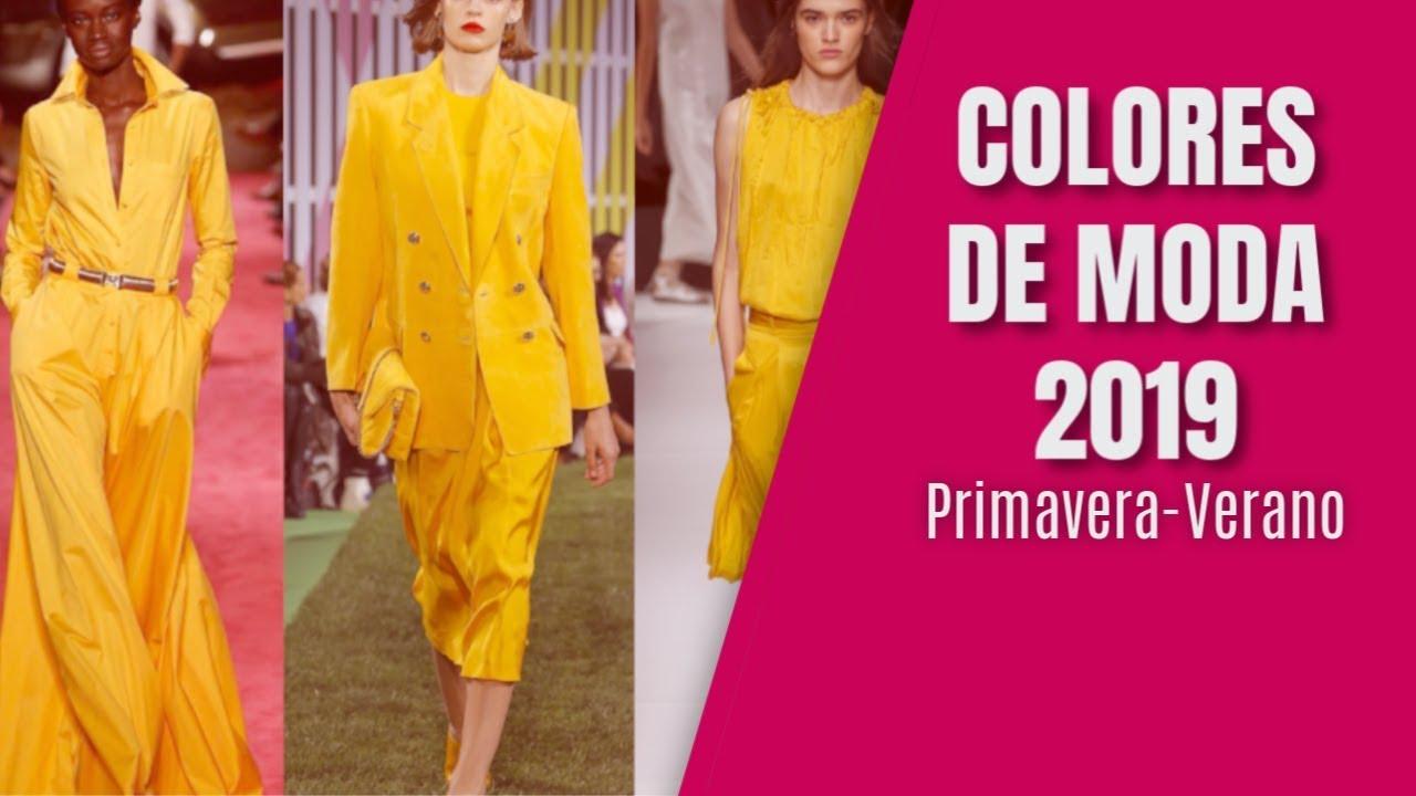 Colores de moda primavera verano 2019 cuarentonas y for Tendencia de color de moda