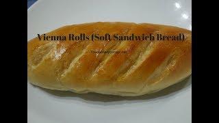 Vienna Rolls ( Soft Sandwich Rolls)
