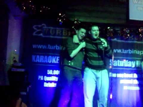 Karaoke at the turbinia