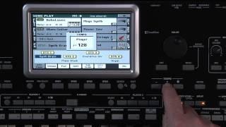Корг Pa3X Ле відео-керівництво - Частина 4: пісня грати