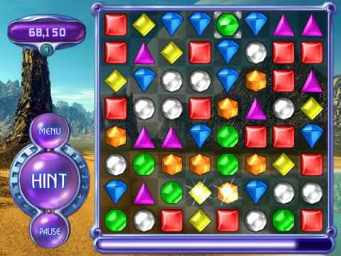 Bejeweled 2 Deluxe Action Mode Part 1 Youtube