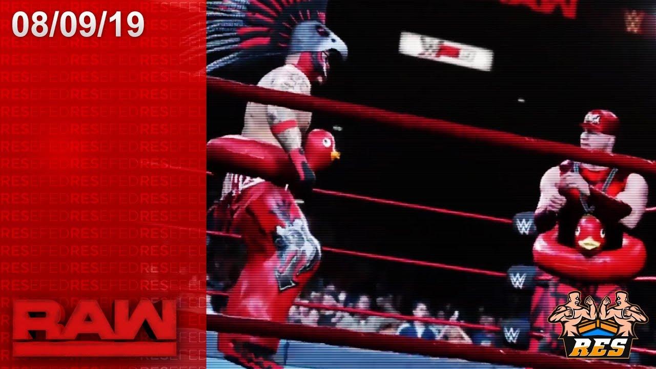 RESEFED RAW 08/09/19 (CONTINUACION) | FULL SHOW HD | LIVE STREAM | WWE 2K19