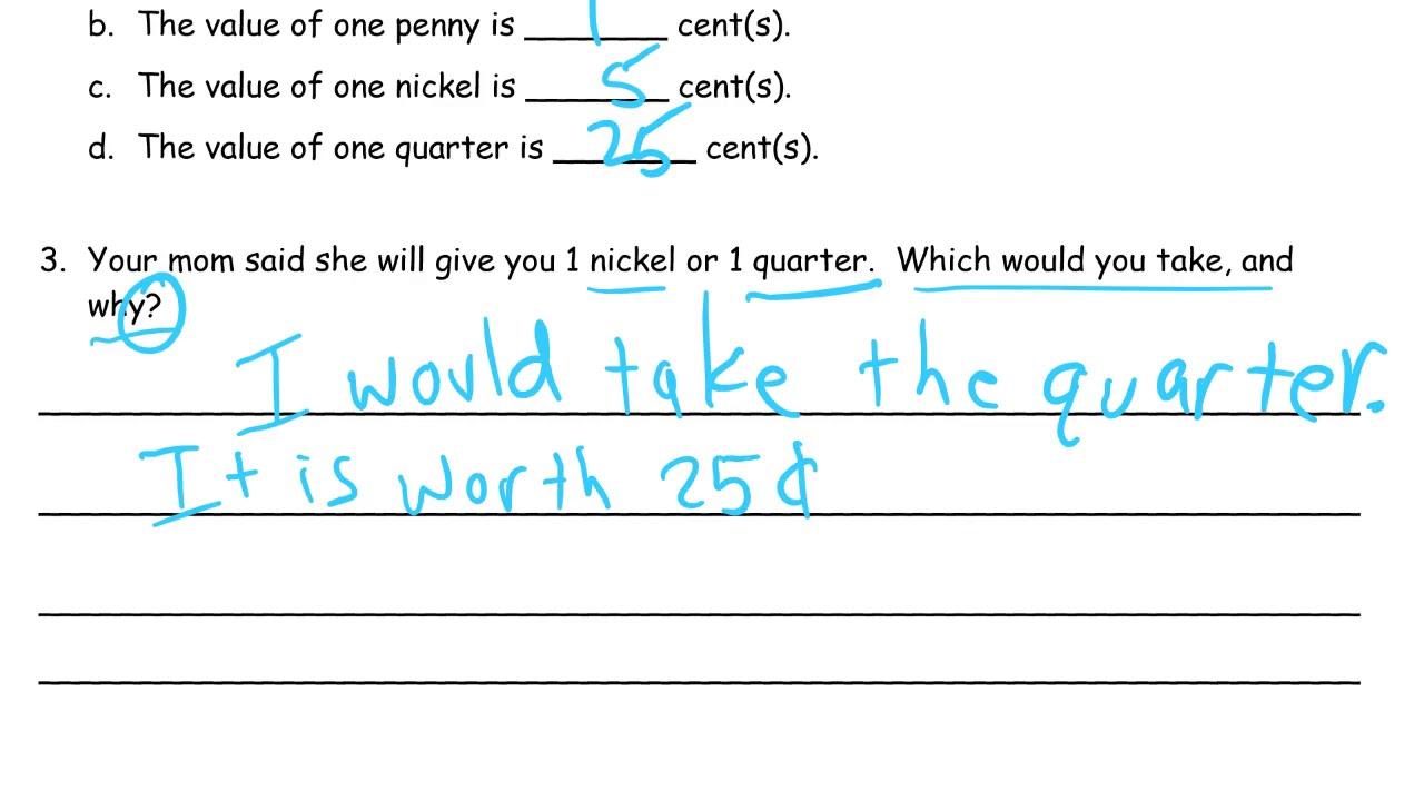 lesson 21 homework module 6 grade 1 - YouTube