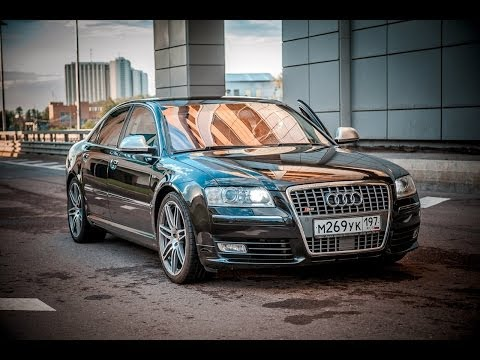 Audi S8 '2006, тест-драйв