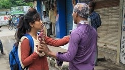 Girl Thrashes Road Romeo In Berhampur,mahamayee college girl???? part 2