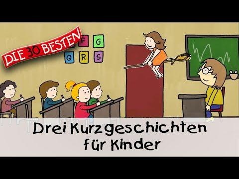 Drei Kurzgeschichten für Kinder (12 Min.)    Folge 3 - Gute Nacht Geschichten für Kinder